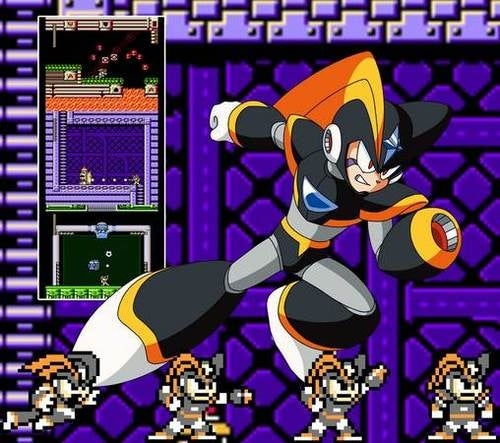 Mega Man 10 Gets the Band Back Together — With Bass