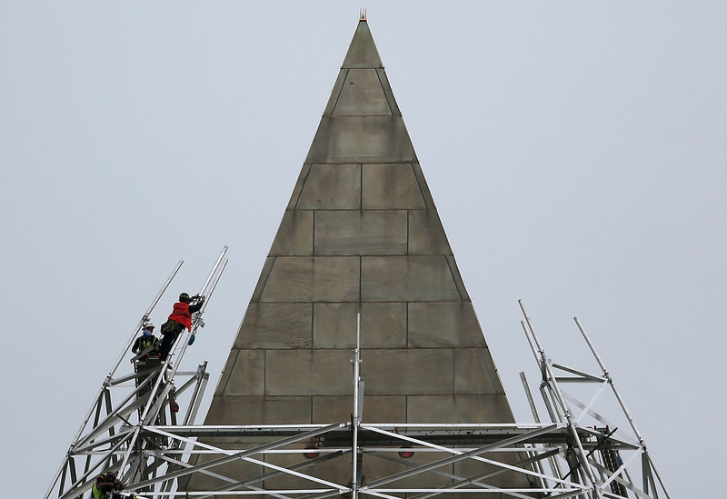 The Architectural Trickery Used to Disguise D.C. Monument Renovations