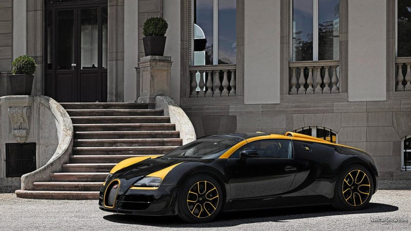 I think this might be my new favorite Veyron..