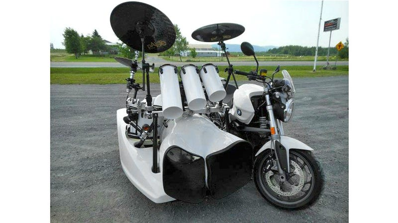 Can You Really Bang Out a Wicked Drum Solo at 65 MPH?