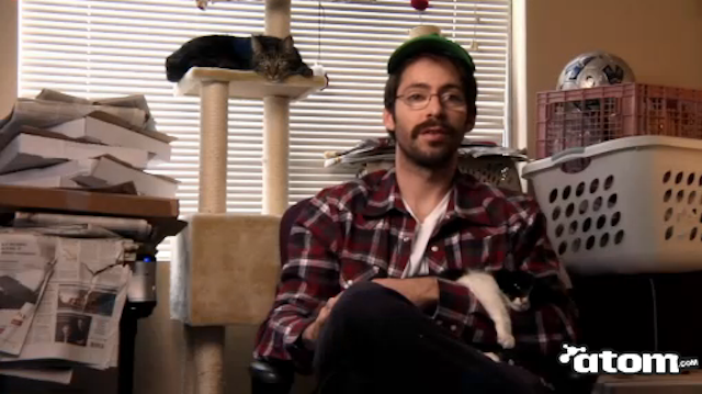 Lizzy Caplan and Martin Starr Appear in the Lastest Edition of The Cat Whisperer