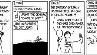 All Hail Opportunity Rover, Future Martian Terror