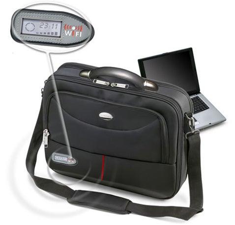 Wi-Fi Finding Laptop Bags Make Complete Sense