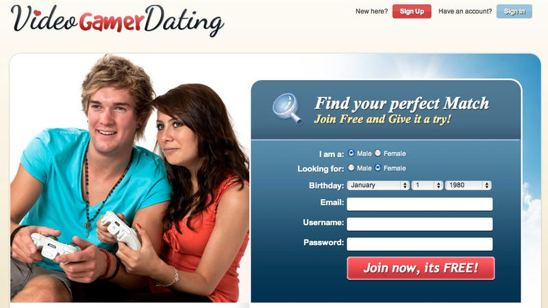 Progressive dating service