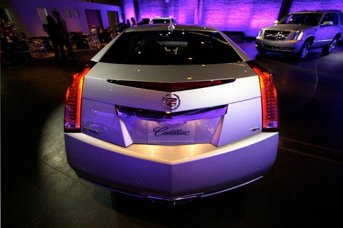 Cadillac CTS Coupe Gallery