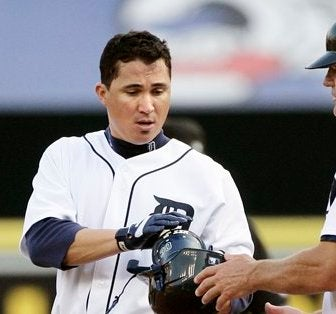 Magglio Ordonez Loses His Magically Silky Hair