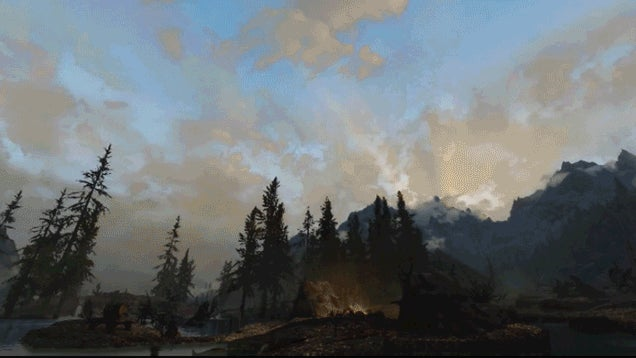 Without Players Terrorizing It, Skyrim Seems Pleasant