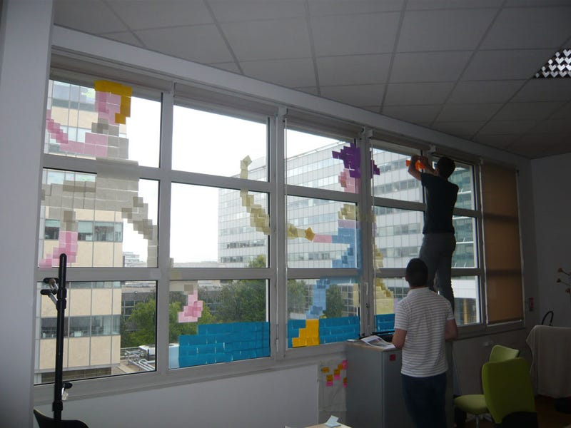 Ubisoft Ports Ezio, Prince of Persia to the Post-It Note Platform, Wages Paper War
