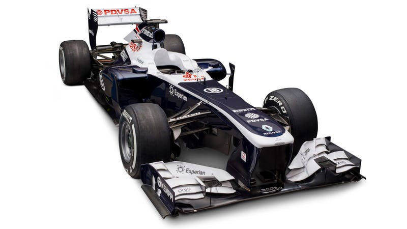 The 2013 Williams F1 Car Is 80% New