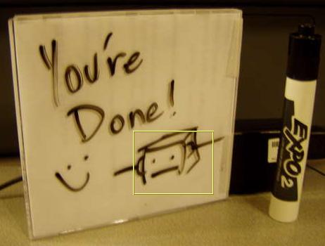 Make a Mini Dry Erase Board