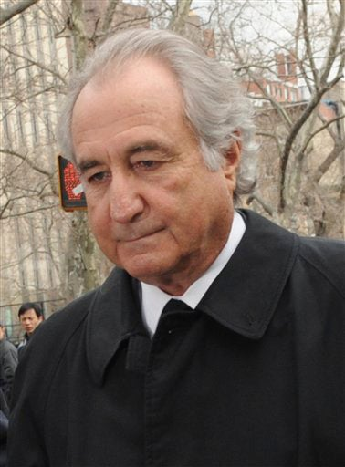 Bernie Madoff Is Your Most Loathsome Financial Villain