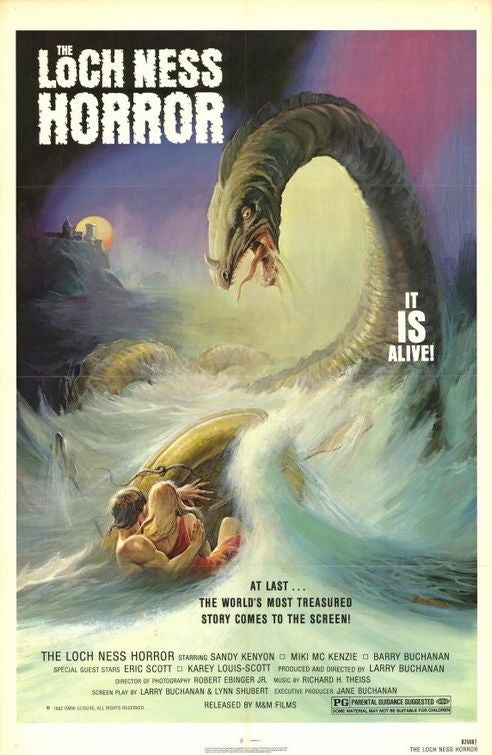 Christian fundamentalist textbooks touting the Loch Ness Monster as proof of Creationism