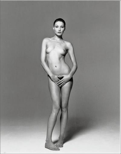 The Nude First Lady (Of France)