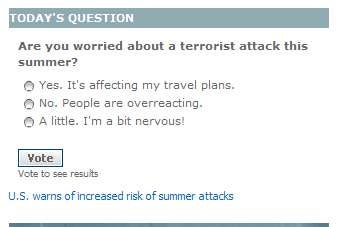 Are You Cowering In Fear About Terror Yet?