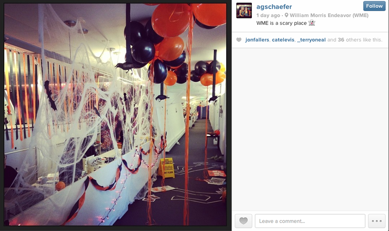 Which Hollywood Agency Had The Best Halloween?