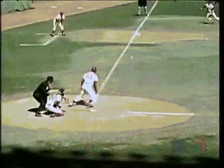 Manny Machado And Brooks Robinson In One GIF