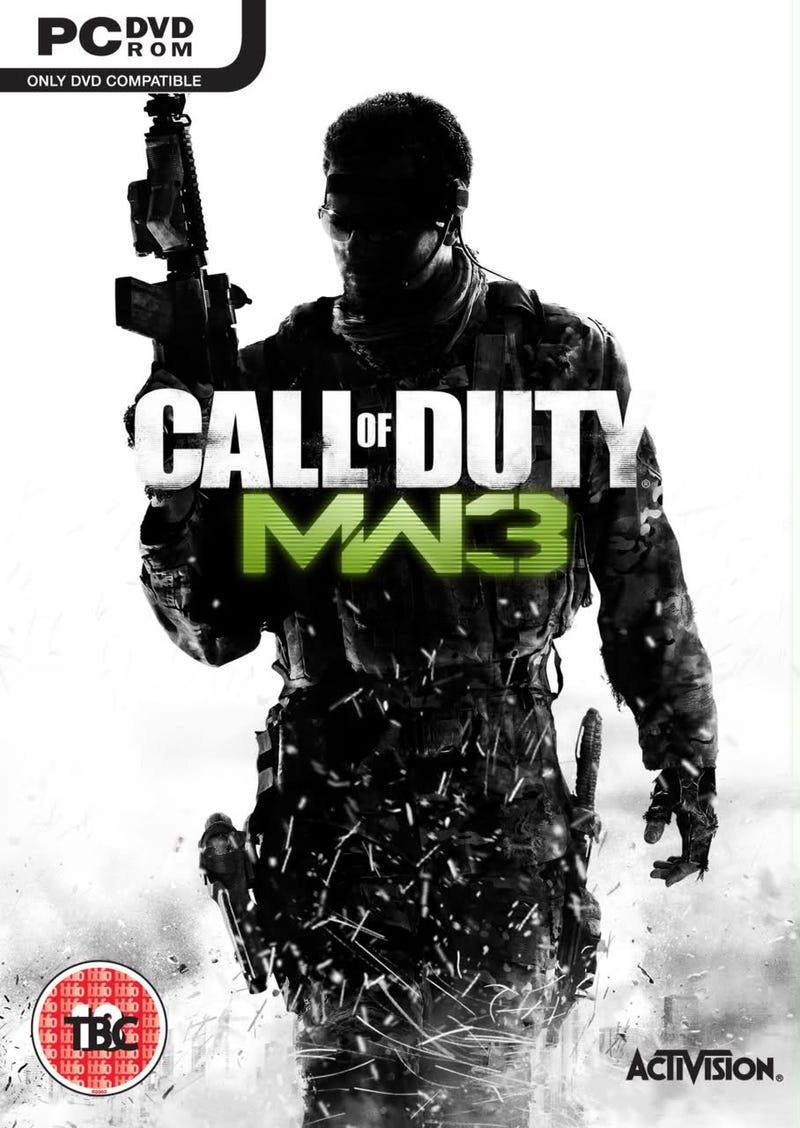 Is This Modern Warfare 3's Cover?