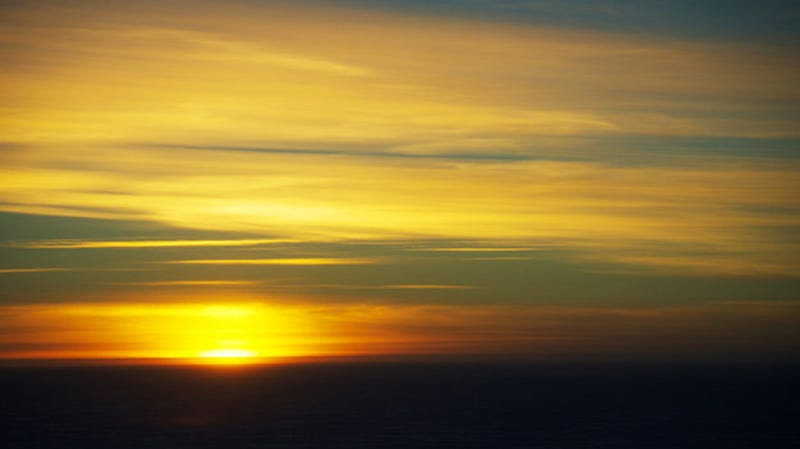 At Least Antarctica's Last Sunset Until August Is a Stunner