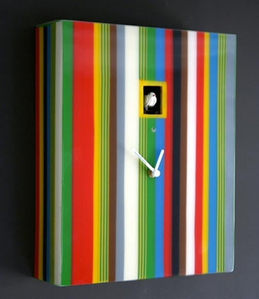A Contemporary Cuckoo Clock for a Contemporary Cuckoo