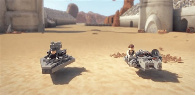 Damn, This Star Wars LEGO Trailer Is Really Good