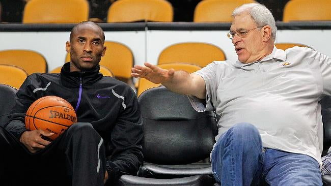 Phil Jackson Says Allegedly Mean Thing About Kobe Bryant In Language Resembling English