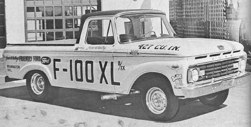 Because Real Pickups Run 12-Second Quarter Miles: The 1963 F100 XL