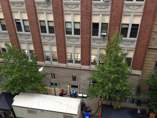 Yep, Some Movie Or TV Show Being Filmed With The Use Of Generators In A Manhattan Neighborhood Still Without Power [UPDATED: Looks like it's an SNL skit]