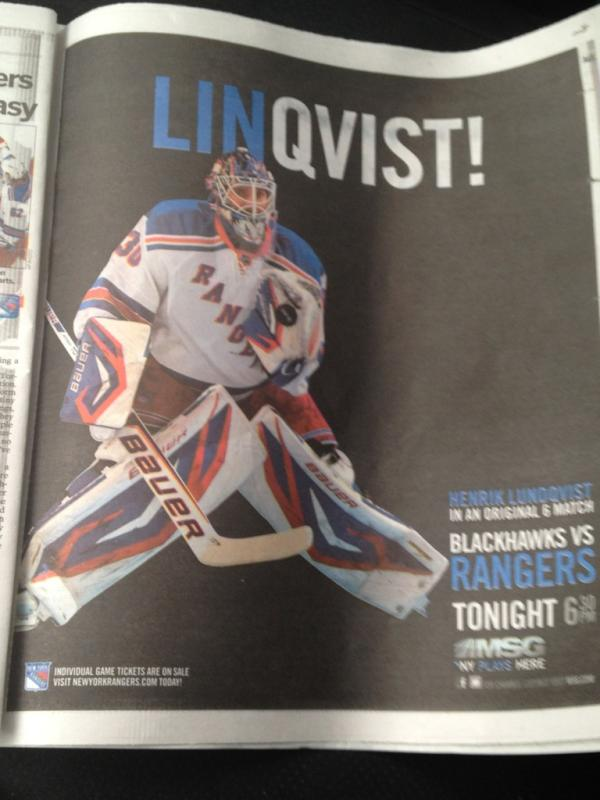 The New York Rangers Made The Day's Worst Jeremy Lin Pun