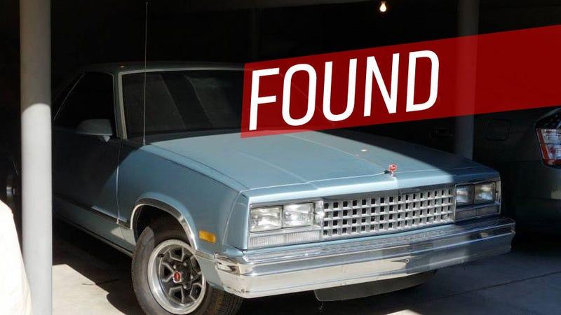 That Stolen El Camino Has Been Found!