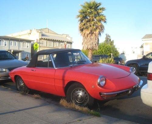 1969 Alfa Romeo Spider Duetto