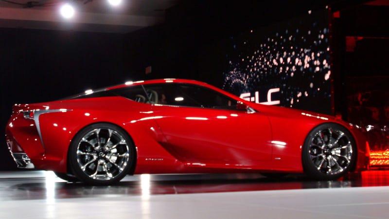 Lexus LF-LC: 2012 Detroit Auto Show Live Photos