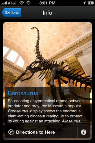 American Museum of Natural History's Explorer App Makes Paper Museum Maps Ancient Artifacts