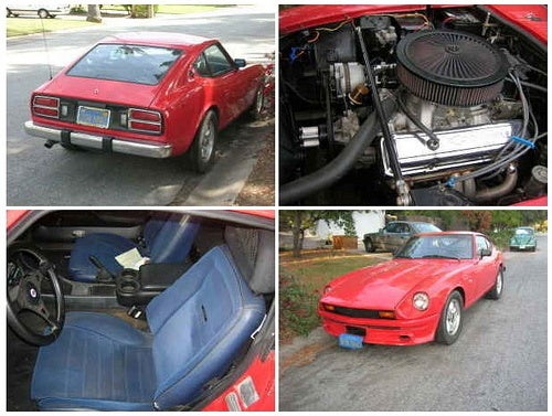 For $6,000, Make This 1975 280Z Scarab Your Fast as Lightning Bug