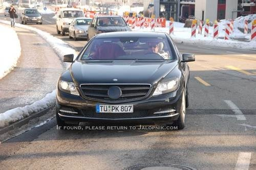 2011 Mercedes CL600: Spy Photos