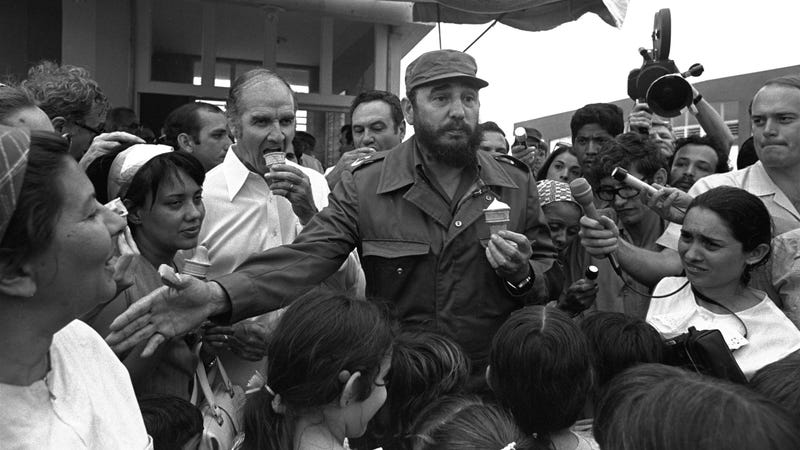 George McGovern and Fidel Castro Eating Ice Cream and Other Great Moments from the Late Senator's Life
