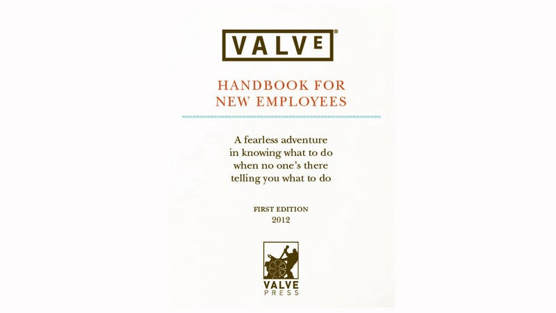 Read Valve's Employee Company Handbook. It's Amazing. [Update]
