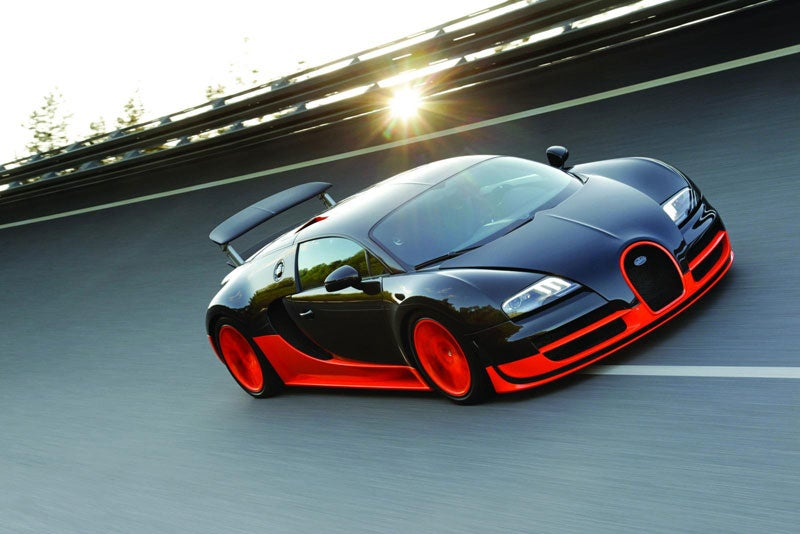 Bugatti Veyron Super Sport: The World's New Fastest Car