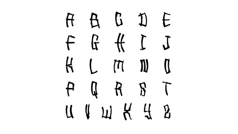 This Font Was Created By a Robot