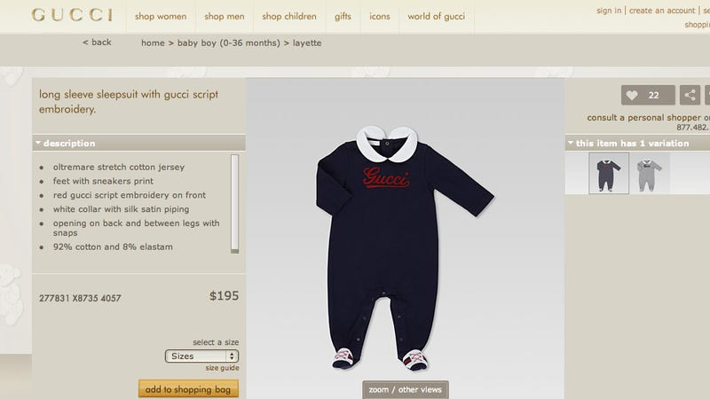 Rich People Now Buying $1200 Dresses For Their Toddlers