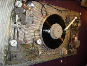 Steampunk Turntable