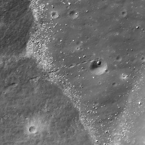 Moon Boulder Scores Three Points