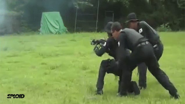Korean police training is absolutely ridiculous