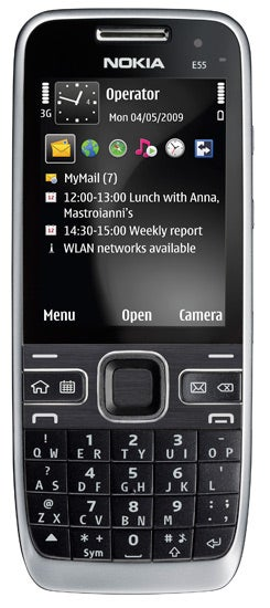 Nokia E55 is Supermodel Skinny, Only Has Half a QWERTY