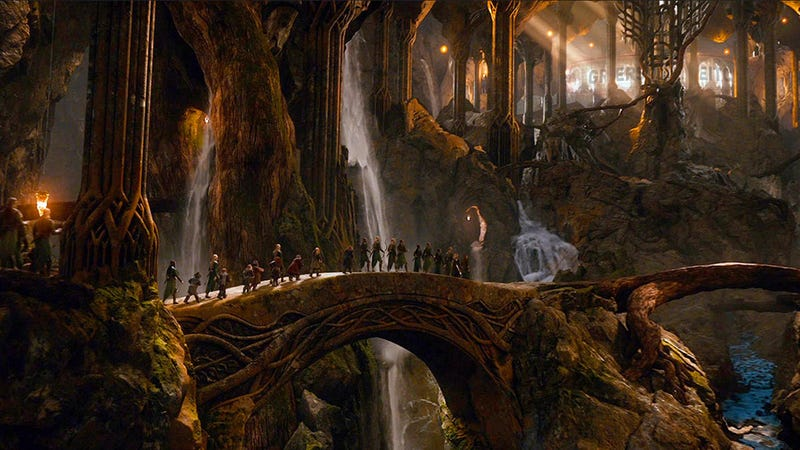 Back In The Hobbit: The Desolation Of Smaug, Reviewed.