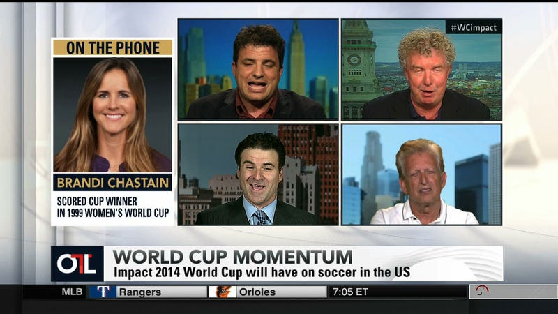 These People Are Discussing Soccer