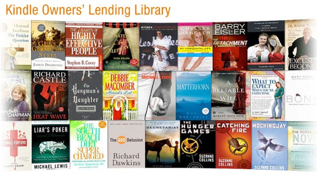 borrowing kindle books from library