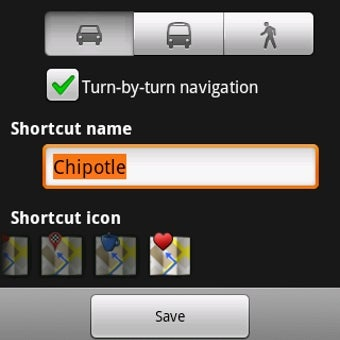 Create Instant Navigation Shortcuts from Android's Home Screen