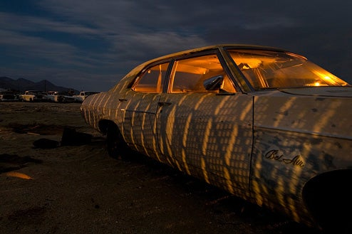More Troy Paiva Photographs Of The Pearsonville Junkyard