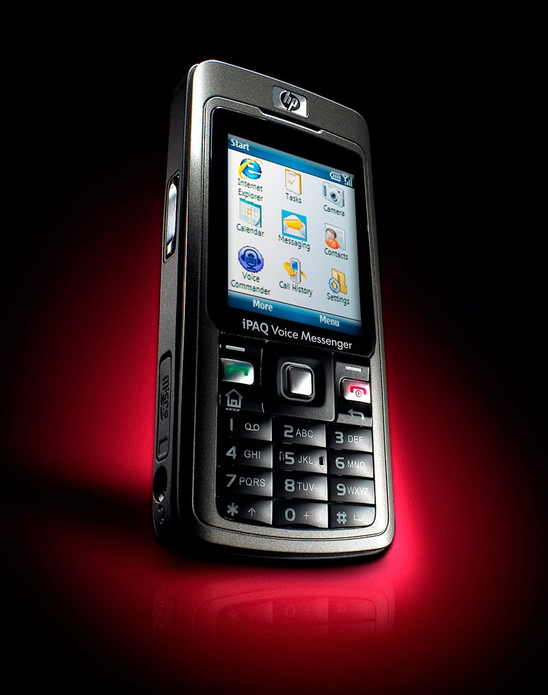 HP IPAQ 510 Voice Messenger: A Half-Assed Revival for the Brand