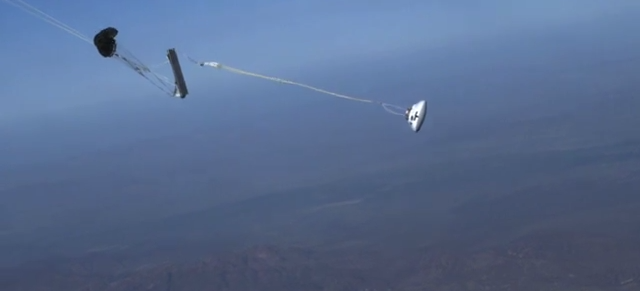 This Graceful Orion Test Flight Is Really Simulating a Launch Disaster